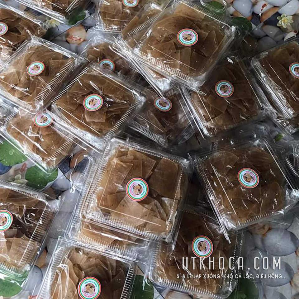 Bánh phồng tôm Cà Mau hộp 500g