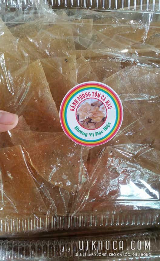 Bánh phồng tôm đóng hộp 500g