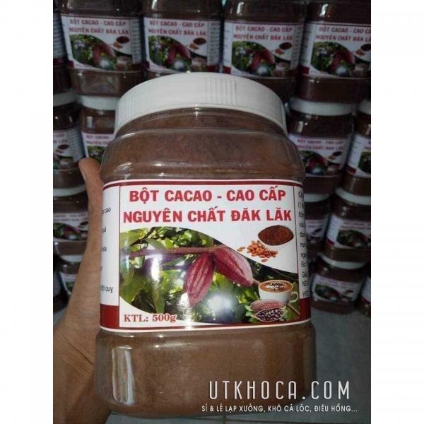 Bột cacao nguyên chất ĐắcLắk