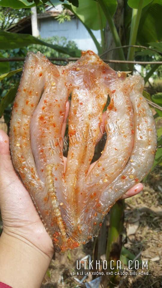 Khô cá lóc dẻo 2 nắng không cứng
